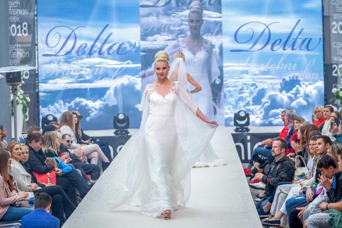 czech fashion week Svatební salon Delta