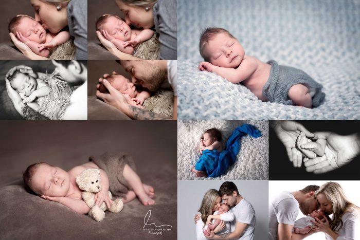 Těhotenské focení miminek - NEWBORN