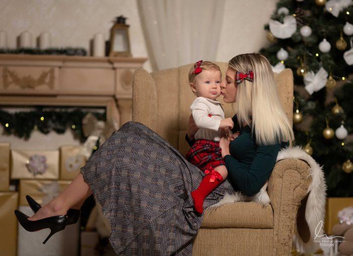 Vánoční focení 2020 fotograf ateliér Most