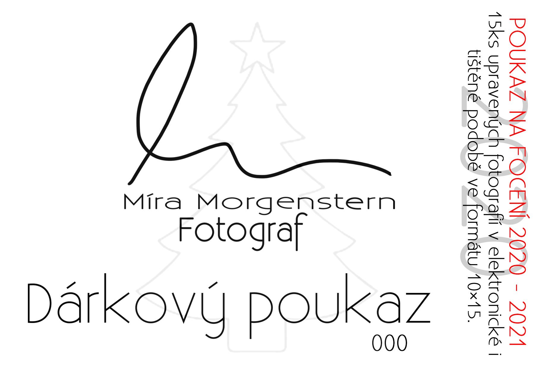 Dárková foto poukaz fotograf